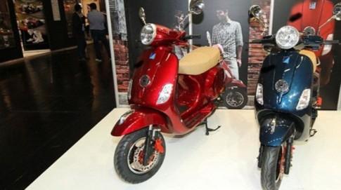 Vespa nhái đến từ Trung Quốc bị tống cổ ra khỏi triển lãm Intermot 2014