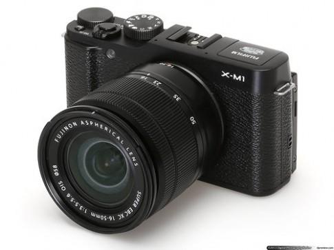 Video mở hộp máy mirrorless thời trang Fujifilm X-M1