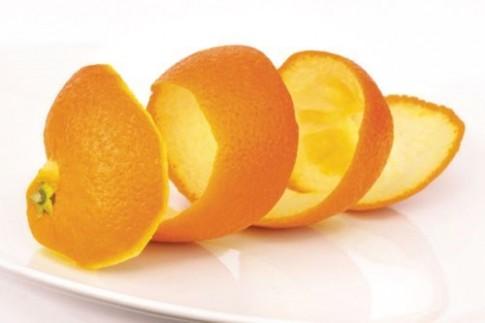 Vỏ trái cây cũng .... quý