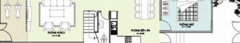 Xây nhà diện tích 4,1 m x 25 m