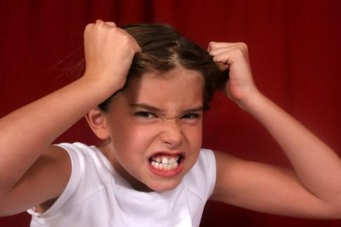 Xử trí khi trẻ giận dữ