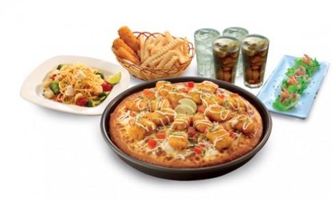 'Yến tiệc của biển xanh' tại Pizza Hut
