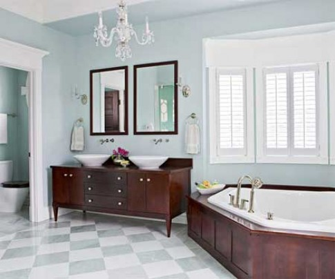 10 kiểu bồn tắm hút hồn nhất hè 2013