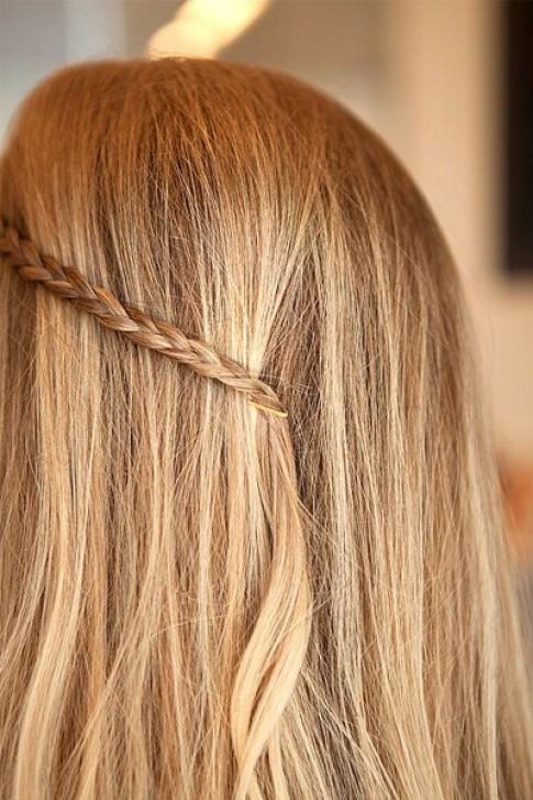 10 kiểu tóc đẹp đơn giản với kẹp ghim