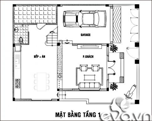 120m2 nhà phố Sài Gòn xây đáng tiền
