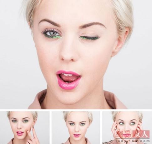 2 kiểu trang điểm mắt nhũ lấp lánh