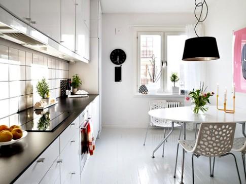 2014: Phòng bếp màu trắng sẽ lên ngôi!