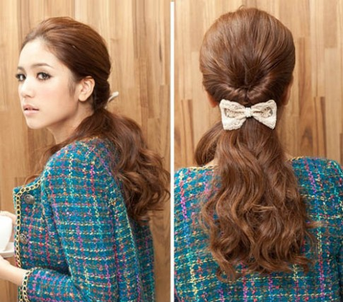 3 kiểu tóc đẹp dễ làm giúp bạn gái gây thương nhớ