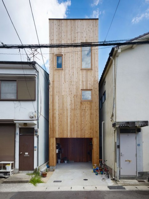 37m2 nhà phố kiểu Nhật siêu thông minh