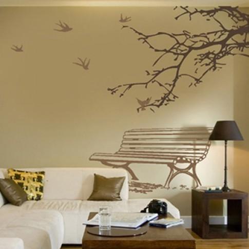 4 bước đơn giản vẽ tranh trang trí tường