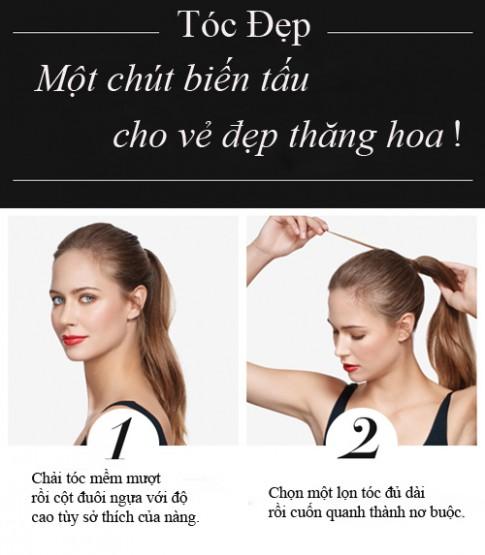 4 bước tạo kiểu tóc đẹp không mất 1 xu