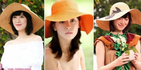 4 kiểu tóc đội mũ ngày hè cực xinh