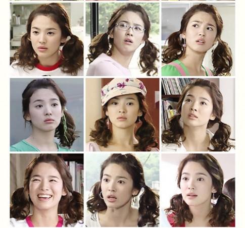 4 kiểu tóc gây 'sốt' của Song Hye Kyo