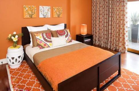 5 sắc màu giúp phòng ngủ đón xuân tươi