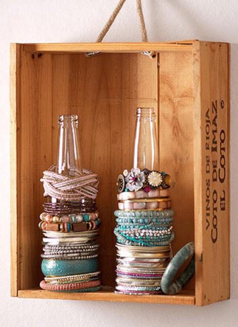 7 cách lưu trữ đồ trang sức cho bạn gái