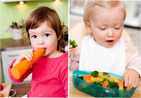 """7 qui tắc """"sống còn"""" cho con ăn rau"""