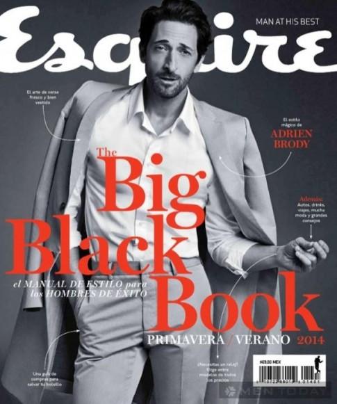 Adrien Brody hào hoa đầy lôi cuốn trên Esquire