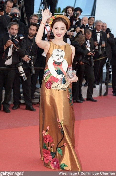 Angela Phương Trinh bị nhầm lẫn với Dương Tử Quỳnh trên thảm đỏ Cannes