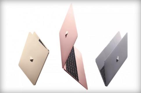 Apple ra MacBook mới màu vàng hồng giống iPhone 6s
