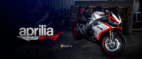 Aprilia RSV4 chất lừ với bản độ đầy phong cách của biker Thái