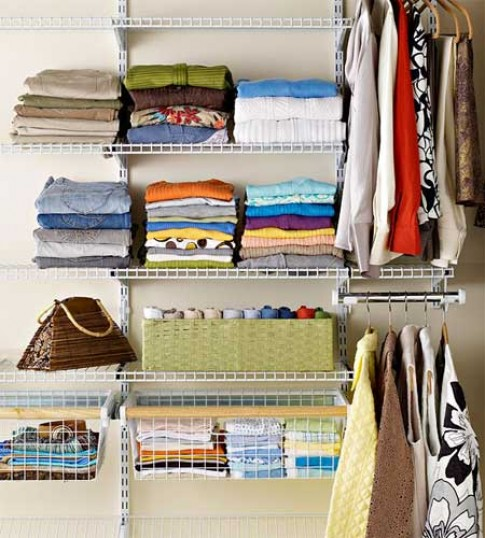 Bày tủ quần áo: Chồng ngắm chồng khen!