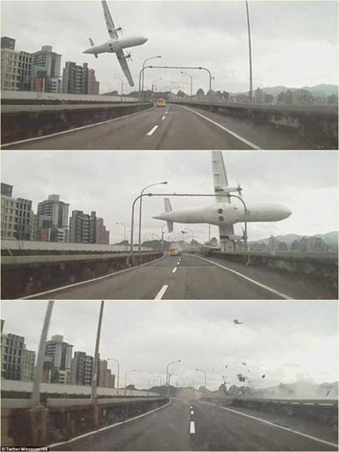 Bé 2 tuổi sống sót thần kỳ trong vụ máy bay Đài Loan rơi