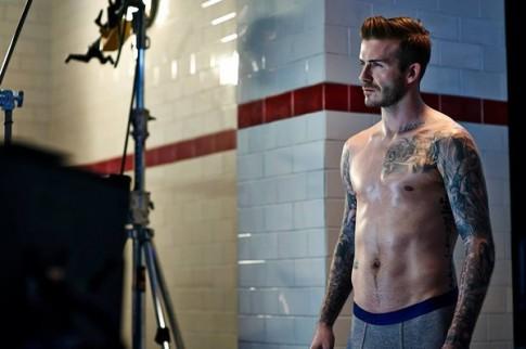 """Beckham – """"Đàn ông"""" đích thực"""