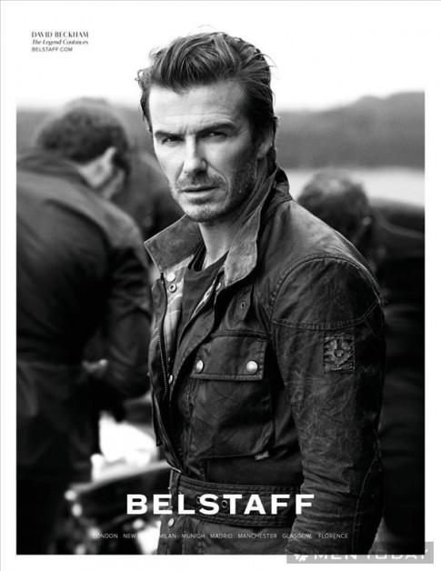 Beckham phong trần và bụi bặm trong chiến dịch xuân/hè 2014 của Belstaff