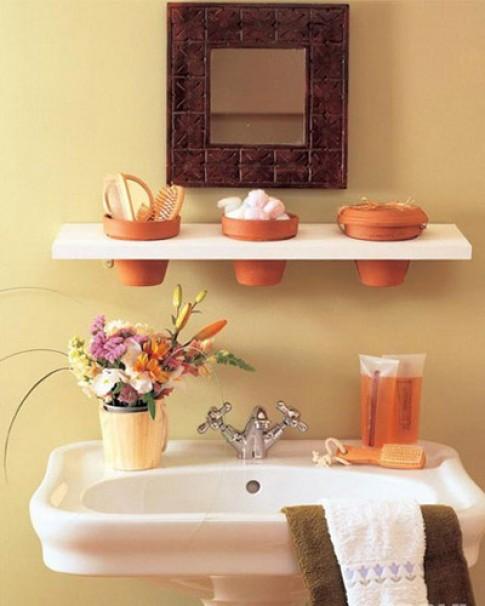 Bí quyết để phòng tắm gọn gàng, sạch đẹp
