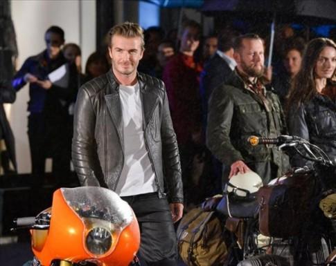 Biker man – David Beckham nam tính và bụi bặm