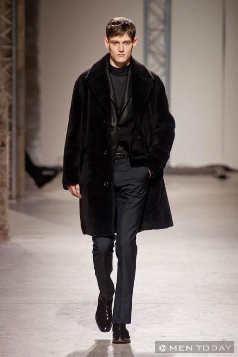 BST thời trang nam thu đông 2014 của Versace | PFW