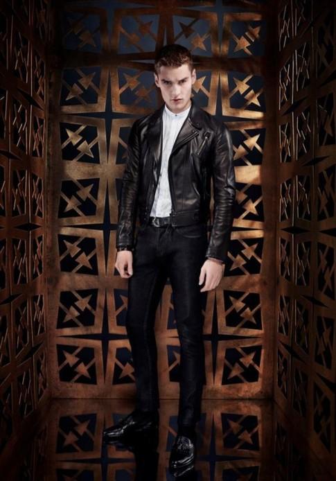BST thời trang nam xuân hè 2014 sang trọng và lịch lãm từ Roberto Cavalli