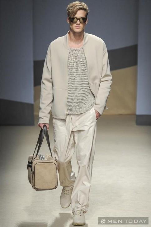BST thời trang nam xuân hè 2014 từ Trussardi