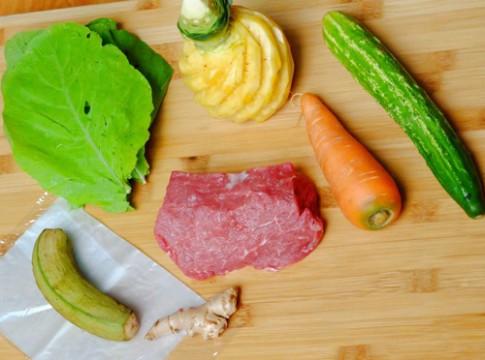 Cách làm bò cuốn lá cải