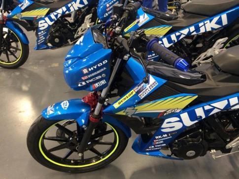 Can canh Suzuki Satria F150 Fi phien ban Racing