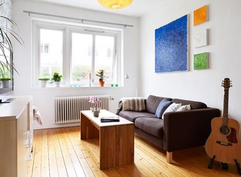 Căn hộ 36 m2 cho chủ nhà nhiều bạn bè