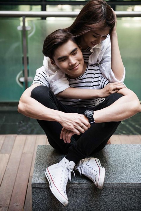 Cặp đôi vàng VNTM 2014: Yêu nhau, yêu cả áo quần!