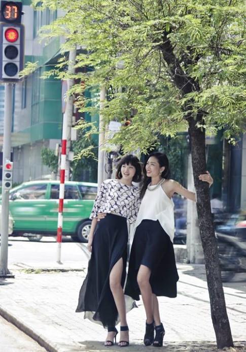 Chà Mi, Nhã Trúc nữ tính trên đường phố Sài thành