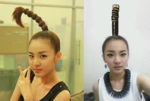 'Chết cười' với những kiểu tóc độc của sao Hàn