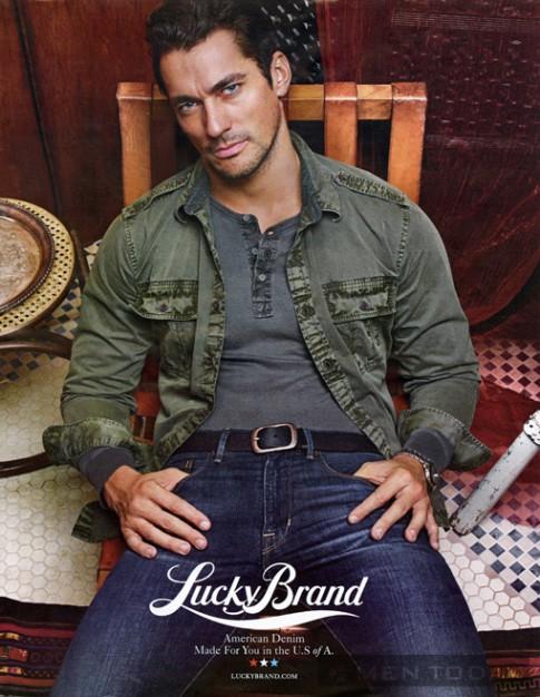 Chiến dịch thời trang nam thu đông 2013 từ Lucky Brand