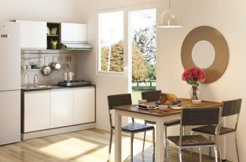 'Chiêu' tiết kiệm không gian bếp