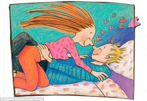 Choáng với sách dạy trẻ 5 tuổi 'yêu'