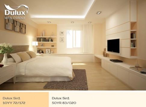 Chọn gam màu thư giãn cho không gian nội thất