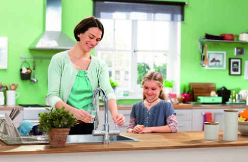 Chọn vòi nước phù hợp cho nhà bếp