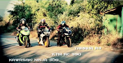 [Clip] Cuộc đua đường thẳng giữa những con ngựa chiến 300cc
