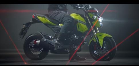 [Clip] Honda MSX 125 2016 tiếp tục tung ra Clip Quảng Cáo