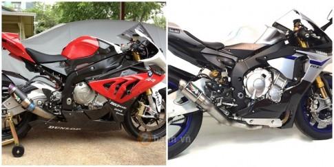[Clip] So sánh tiếng pô Austin Racing GP2R trên BMW S1000RR và Yamaha R1