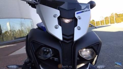 [Clip] Test thử âm thanh của mẫu nakedbike hoàn toàn mới Yamaha MT-10