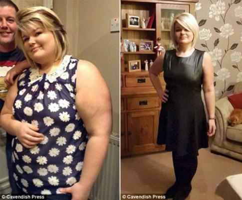 Cô gái giảm 45kg nhờ từ bỏ thói quen xấu