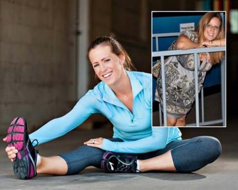 Cô gái giảm 50kg vì chạy bộ quyên tiền làm từ thiện